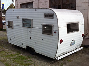 Vintage Aladdin Travel Trailer
